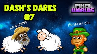 Pixel Worlds - Dares (#7) ft.mod
