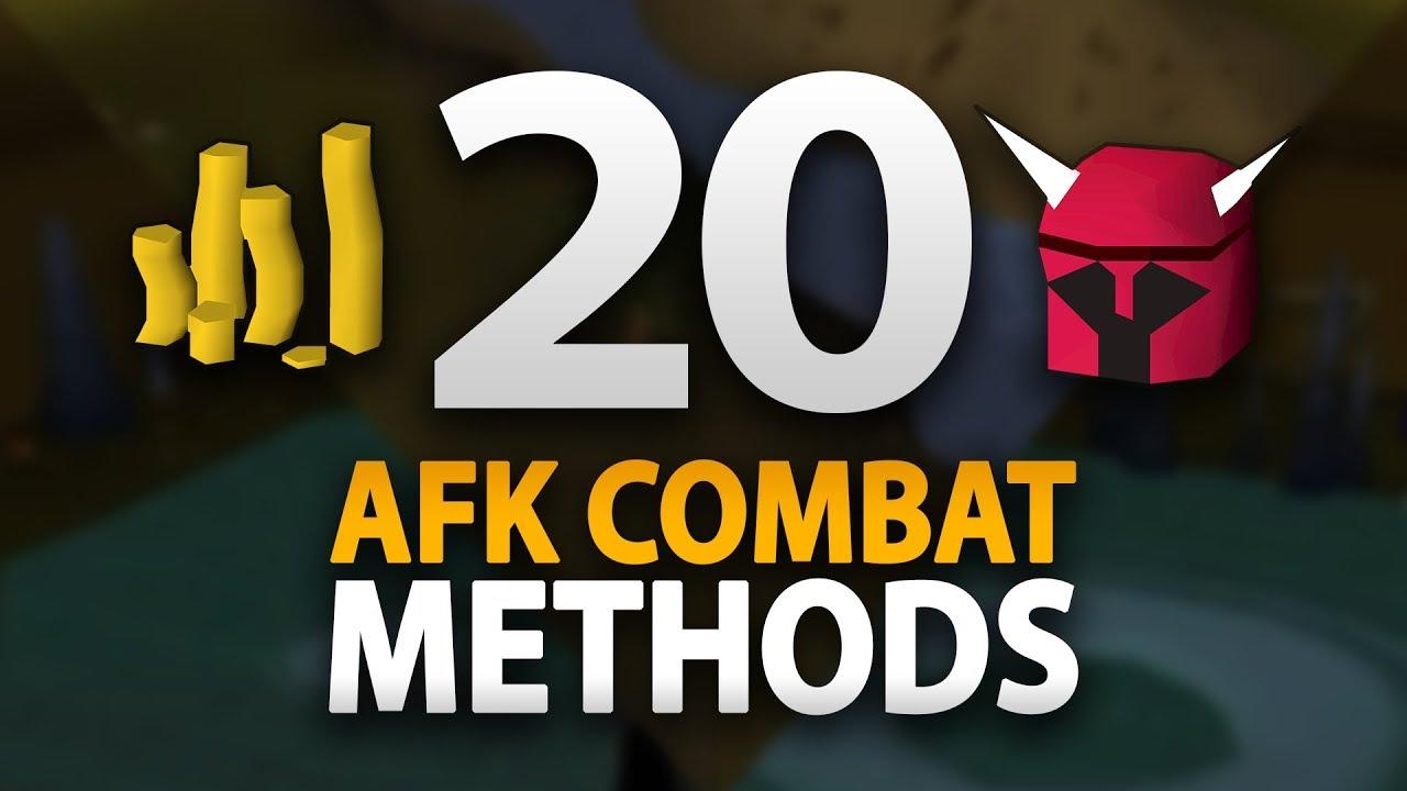 20 AFK Combat Training Methods (OSRS)
