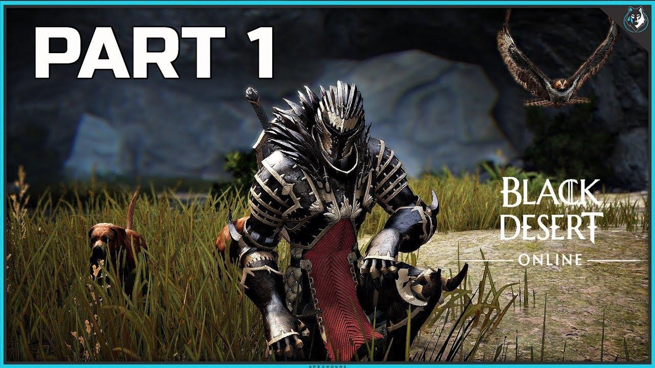Black Desert Online XB1 Walkthrough Part 1 - INTRO & FIRST QUESTS | Xbox  One Gameplay