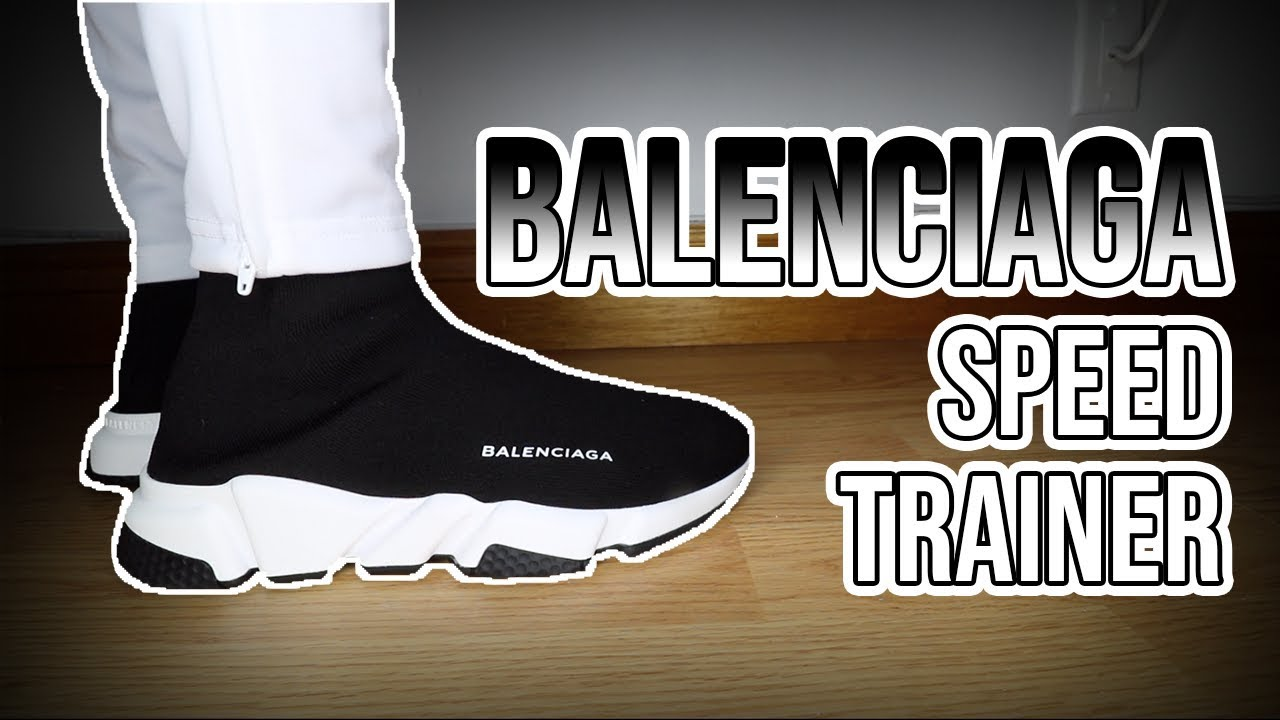Balenciaga Speed Trainer Sneakers Review