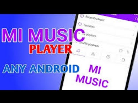 Mi music player in any android phone with download link|| best music player app