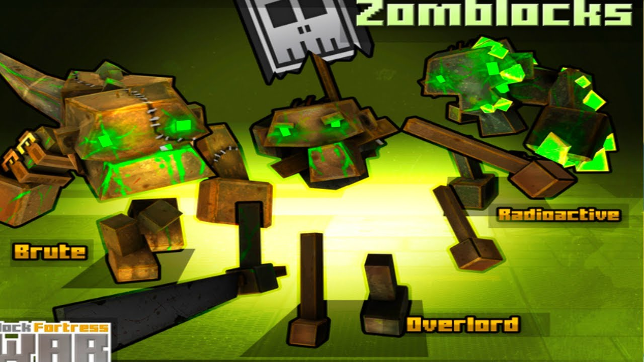 block fortress war - zomblocks 40  gameplay