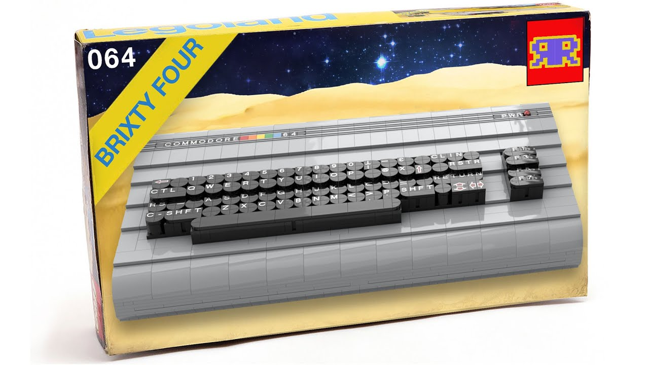 The Brixty Four - Full-size LEGO C64s