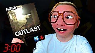 Нубик первый раз играет в Outlast в 3:00 часа ночи.... 😱