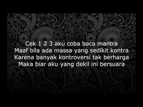Eizy  - Nada Tinggi ( Diss Haters + Young Lex)lyric  mp4