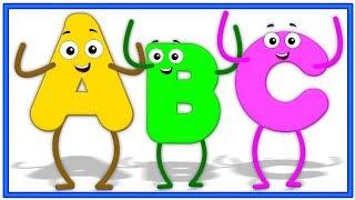 Alphabete auf Deutsch   lernen abc auf deutsch   Kinder lernen Videos   German Alphabets Spoken