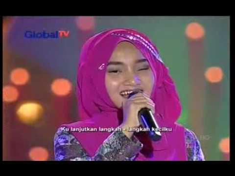 Fatin Shidqia - Percaya Kampung Ramadhan Globaltv 2 Juli 2016