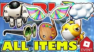 WIE ALLE ITEMS GET - Roblox Imagination Event 2018 Fashion Famous, Turtle Island, machen einen Kuchen