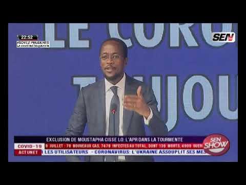 Abdou Mbow à Moustapha CISSE LO