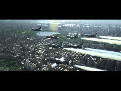 Breitling Jet Team Tribute to New York City