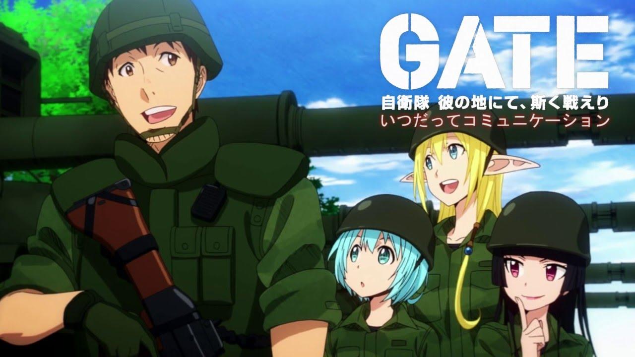 アニメ Gate ゲート 自衛隊彼の地にて 斯く戦えり のあらすじ