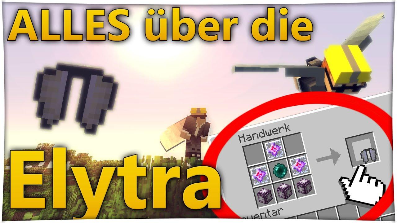 Craft Elytra Minecraft