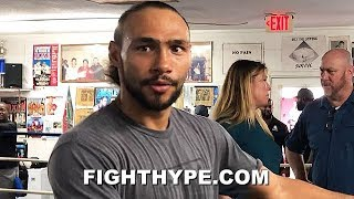 """WHAT HAPPENED EJ"" - THURMAN DISSES ERROL SPENCE'S ""MAN DOWN"" PERFORMANCE AGAINST MIKEY GARCIA"