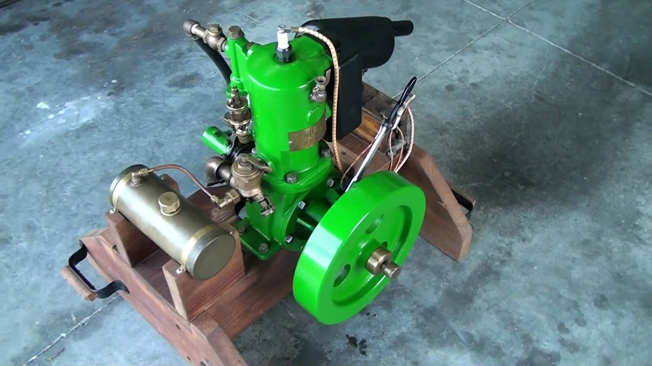 Detroit Engine Works - 1906 Marine Engine - YouTube
