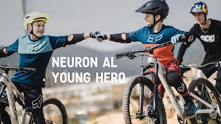 Neuron AL Young Hero with Fabio Wibmer | Mountainbiking Young-Defined
