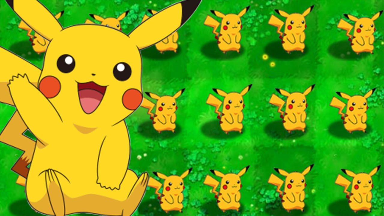 Pokemon vs Zombies – Hoa quả nổi giận phiên bản Pokemon (Phần 1)