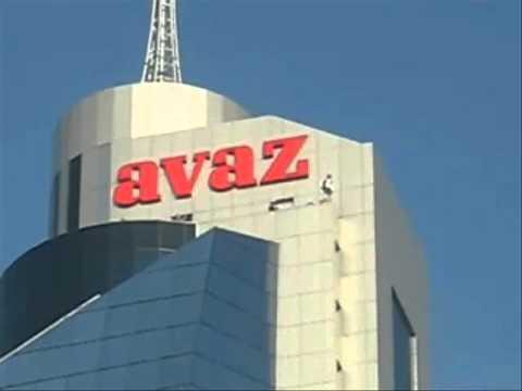 skok sa Avaz Twist Tower - snimak.wmv
