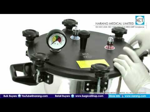 Autoclave / Pressure Steam Sterilizer, Electric. Item Code: AU205