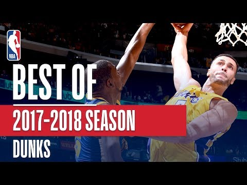 Best Dunks From The 2017-2018 NBA Season (Larry Nance Jr., Giannis, LeBron and More)