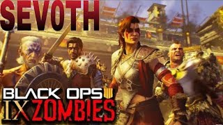 Call of Duty: Black Ops 4 multiplayer  Zombie IX manche 25 gameplay sur sony ps4.