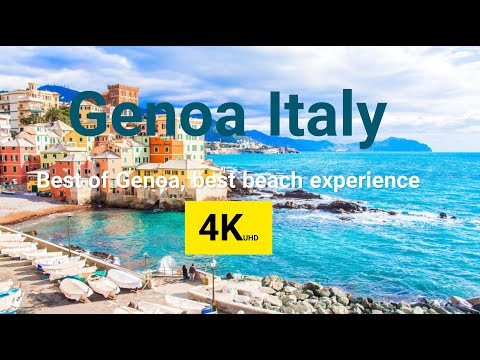 Genoa Italy in 4K | Best Places to Visit in Genoa: Unique Architectures and Experience of Beaches