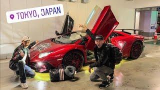 LAMBORGHINI UBER PICK UP IN TOKYO JAPAN!