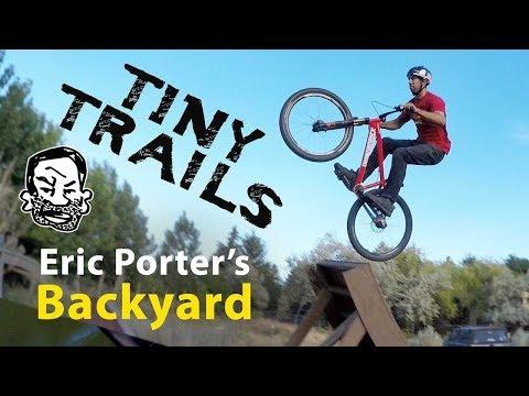 Backyard MTB Trails at Eric Porter's House