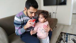 Ayşe Ebrar Babasına Milkshake Şakası Yaptı. For Kids Video