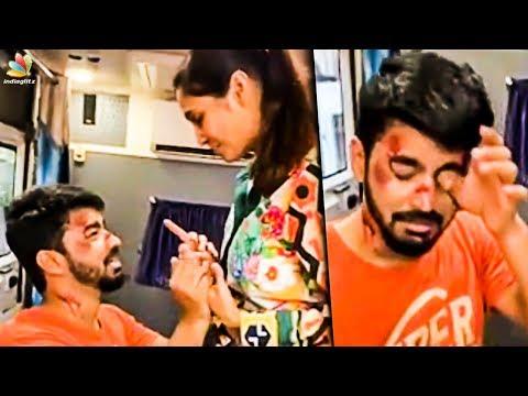 Bigboss Mahat Attacked By Girlfriend Prachi   Latest Tamil Cinema News