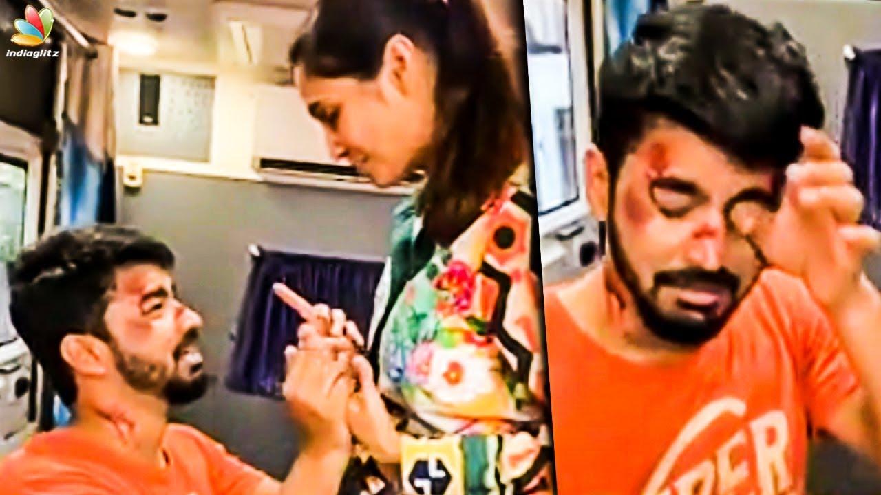 Bigboss Mahat Attacked By Girlfriend Prachi | Latest Tamil Cinema News