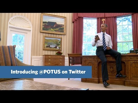 @POTUS: The First Tweet