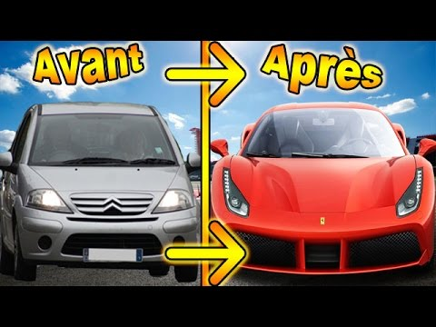 J'AI TRANSFORMÉ MA CITROËN C3 EN FERRARI ! NO FAKE !