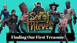 Let's Play Sea of Thieves # 1 - Finding Our First Buried Treasure