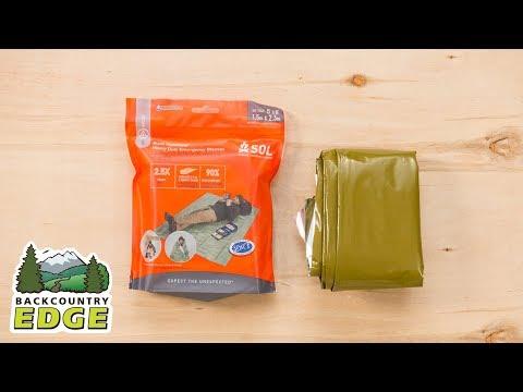 Adventure Medical Kits SOL Heavy Duty Emergency Blanket