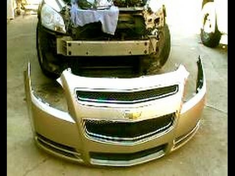 Ford Focus Bumper Diagram How To Remove Replace A 2008 2012 Malibu Front Bumper