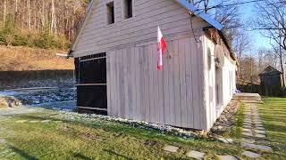 Dom drewniany remont - elewacja z deski