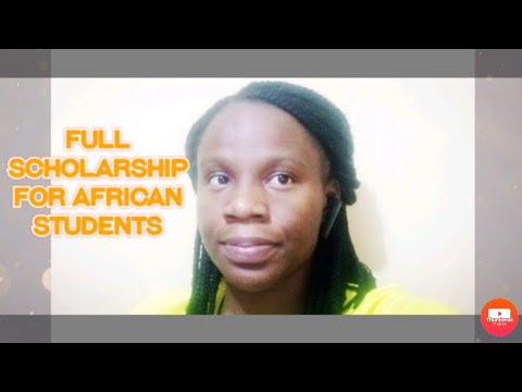 FULL SCHOLARSHIP FOR MASTERS AND PHD IN AFRICA