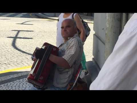 Blind Portuguese Street Singer 2016