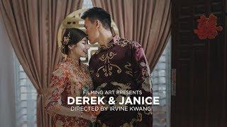 Filming Art | Derek & Janice_Same Day Edit by Signature Director