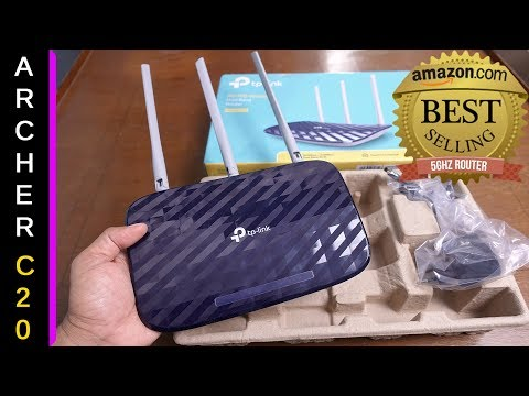 Budget AC WiFi Router 750 Mbps Dual Band - TP-LINK ARCHER C20