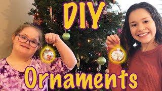 DIY Nail Polish Christmas Ornaments (Sarah & Sierra Haschak)