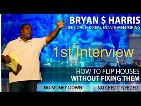Interview #1: Bryan S Harris- Real Estate Investor Power Houses! Mutiple 6 figures a month