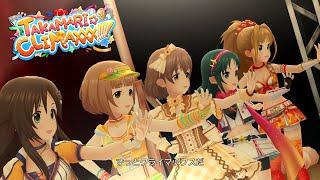 「デレステ」TAKAMARI☆CLIMAXXX!!!!! (Game ver.) 喜多日菜子、喜多見柚、南条光、日野茜、姫川友紀 SSR