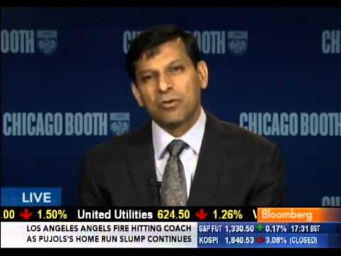 """Raghuram Rajan, """"Fault Lines"""" - Lessons of the Recession (16May12)"""