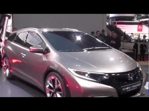 Honda Civic Sport Tourer - Salon de Genève 2013