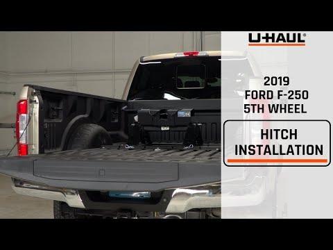 2019 Ford F-250 5th Wheel Hitch Installation