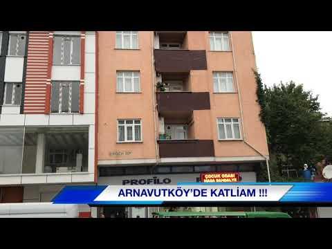 Arnavutköy'de Katliam; 4 Kişiyi öldürdü