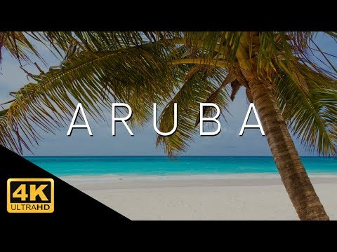 Aruba 4k Full Island and Beach Tour Video