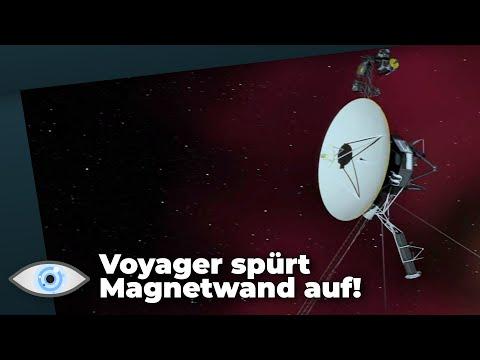 NASA-Sonde Voyager 2 spürt mysteriöse Magnetwand auf!
