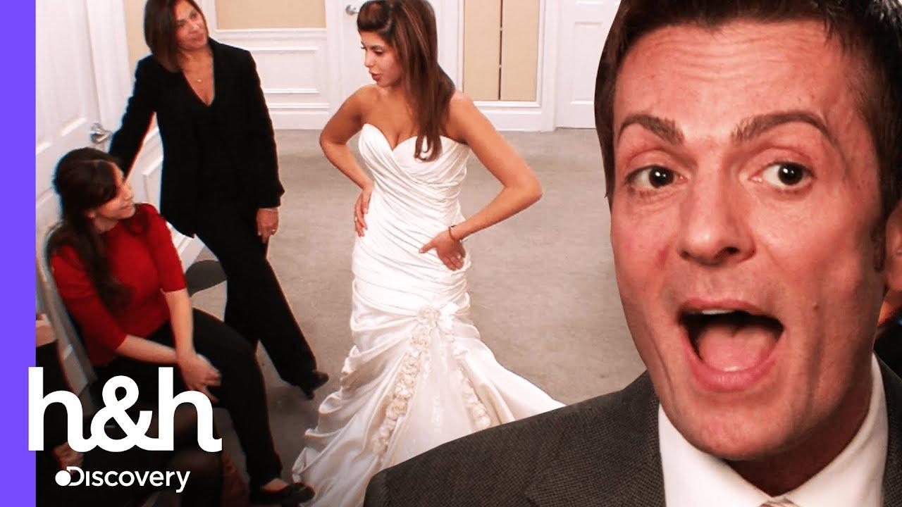 Noiva Prova Vestido Que Não Pode Comprar O Vestido Ideal Discovery Hh Brasil